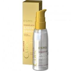 """Жидкий шёлк """"Блеск-эффект"""" для всех типов волос ESTEL CUREX BRILLIANCE, 100 мл"""