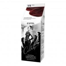 Vopsea-îngrijire pentru păr semipermanentă Celebrity, 7/5 Rubin, 125 ml