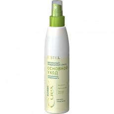 """Двухфазный кондиционер-спрей """"Основной уход"""" для всех типов волос ESTEL CUREX CLASSIC, 200 мл"""
